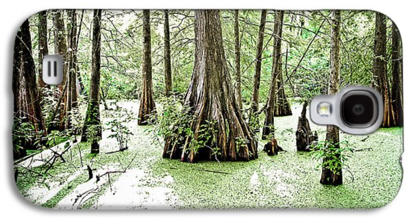 Cypress Swamp Galaxy S4 Cases - Lake Martin Swamp Galaxy S4 Case by Scott Pellegrin