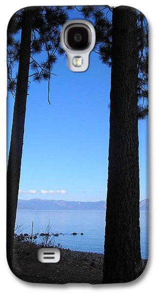 Dreamscape Galaxy S4 Cases - Lake Tahoe Silhouettes  Galaxy S4 Case by Connie Handscomb