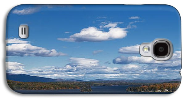 Photography Prints Galaxy S4 Cases - Lake Winnipesaukee New Hampshire in Autumn Galaxy S4 Case by Stephanie McDowell