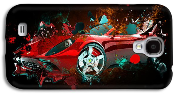 Lamborghin Galaxy S4 Case by Mark Ashkenazi