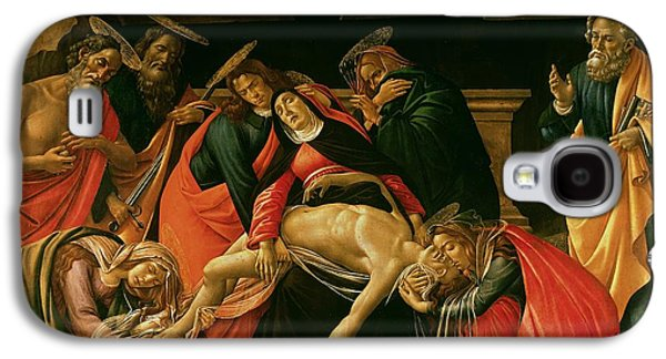 Weeping Galaxy S4 Cases - Lamentation of Christ Galaxy S4 Case by Sandro Botticelli