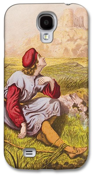 Religious Drawings Galaxy S4 Cases - Lamentation Of Tender Conscience. From Galaxy S4 Case by Vintage Design Pics