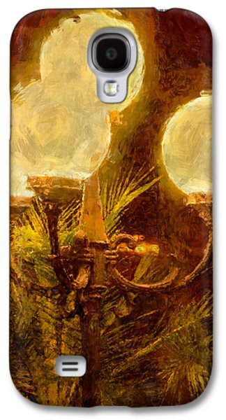 Abstract Forms Galaxy S4 Cases - Lamplight Galaxy S4 Case by John Bailey