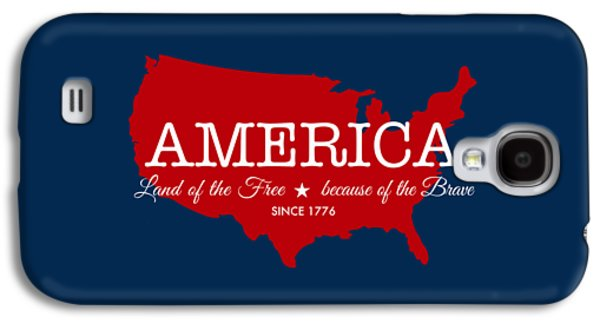 Land Of The Free Galaxy S4 Case by Nancy Ingersoll
