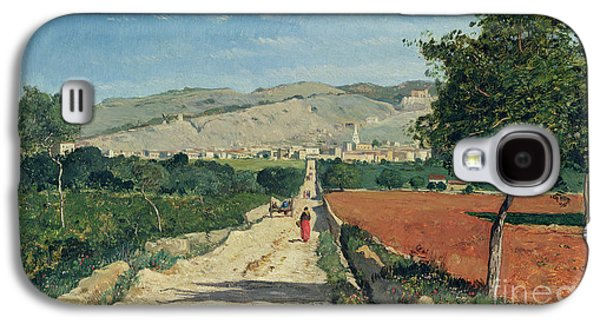 Landscape In Provence Galaxy S4 Case by Paul Camille Guigou