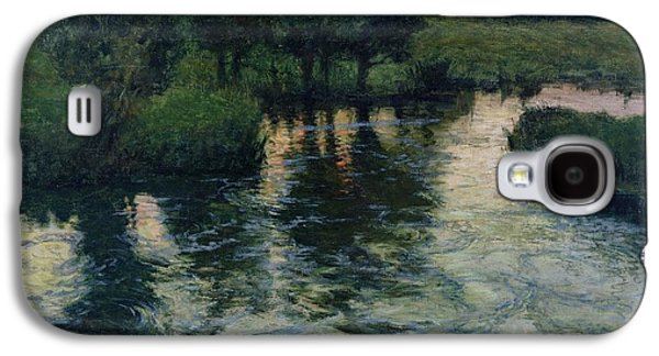 Landscape With A River Galaxy S4 Case by Fritz Thaulow