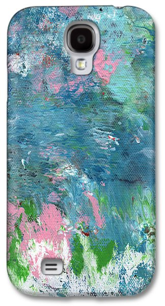 Last Dance- Abstract Art By Linda Woods Galaxy S4 Case by Linda Woods