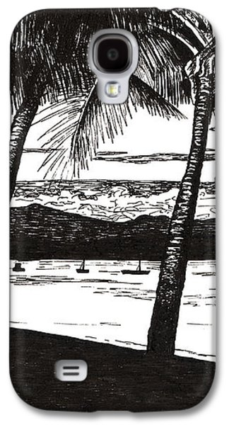 Dunk Island Galaxy S4 Cases - Late Afternoon at Dunk Island Galaxy S4 Case by Monica Hudson