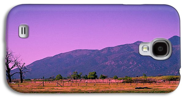 Taos Galaxy S4 Cases - Late Afternoon in Taos Galaxy S4 Case by David Patterson