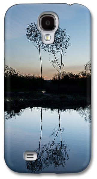 Trees Reflecting In Water Galaxy S4 Cases - Late Evening Reflections II Galaxy S4 Case by Marco Oliveira