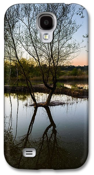Reflections In River Galaxy S4 Cases - Late Evening Reflections III Galaxy S4 Case by Marco Oliveira
