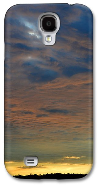 Nature Abstracts Galaxy S4 Cases - Late June Sunset  Galaxy S4 Case by Lyle Crump