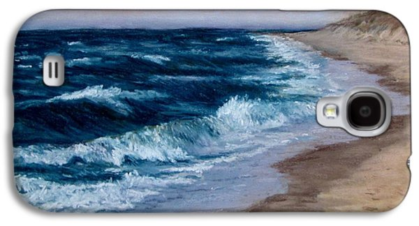 Jack Skinner Galaxy S4 Cases - Late Spring at Cold Storage Beach Galaxy S4 Case by Jack Skinner