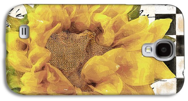 Late Summer Yellow Sunflowers Galaxy S4 Case by Mindy Sommers