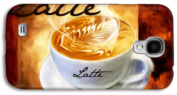 Espresso Galaxy S4 Cases - Latte Galaxy S4 Case by Lourry Legarde