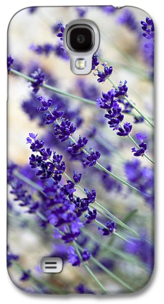 Blueish Galaxy S4 Cases - Lavender Blue Galaxy S4 Case by Frank Tschakert