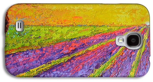 Lavender Dreams Galaxy S4 Case by Patricia Awapara