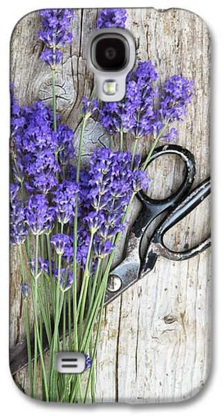 Cut Flowers Galaxy S4 Cases - Lavender Harvest Galaxy S4 Case by Tim Gainey