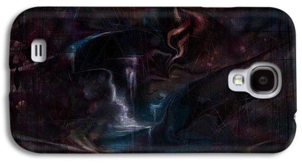 Dreamscape Galaxy S4 Cases - Layers Of Life Galaxy S4 Case by Rachel Christine Nowicki