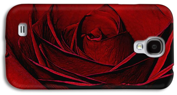 Botanical Galaxy S4 Cases - Layers of Love Galaxy S4 Case by Ernie Echols
