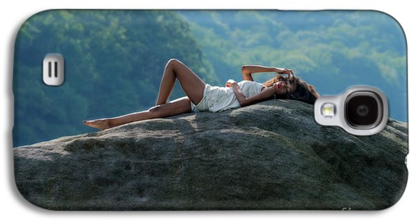 Laying On Top Of The Boulder Galaxy S4 Case by Dan Friend