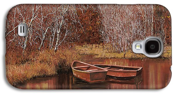 Stream Galaxy S4 Cases - Le Barche Sullo Stagno Galaxy S4 Case by Guido Borelli