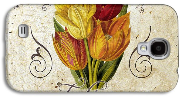 Le Jardin Tulipes Galaxy S4 Case by Mindy Sommers