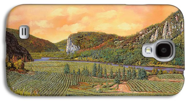 Grape Vineyard Galaxy S4 Cases - Le Vigne Nel 2010 Galaxy S4 Case by Guido Borelli