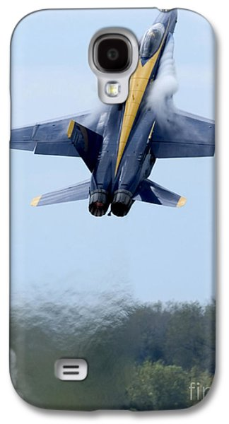Vertical Galaxy S4 Cases - Lead Solo Pilot Of The Blue Angels Galaxy S4 Case by Stocktrek Images
