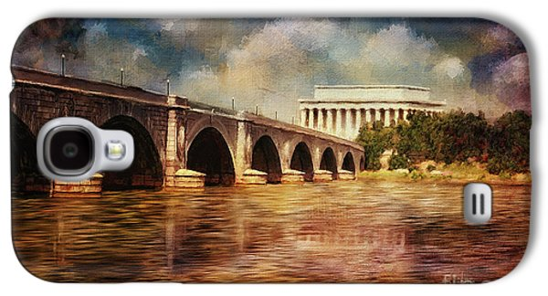 Reflections In Water Galaxy S4 Cases - Leading To Lincoln Galaxy S4 Case by Lois Bryan