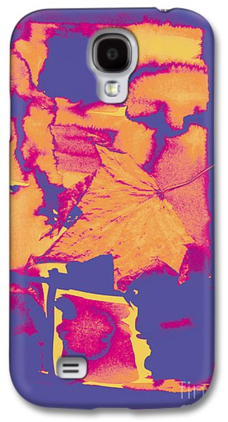 Abstract Nature Galaxy S4 Cases - Leaf Duo Galaxy S4 Case by Rosemary Collard