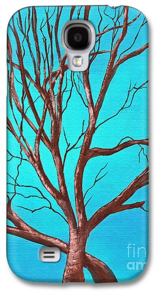 Saving Paintings Galaxy S4 Cases - Lean On Me Galaxy S4 Case by Sabrina Wheeler