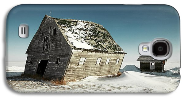 Leaning Barn Galaxy S4 Case by Todd Klassy