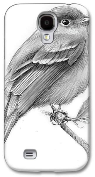 Least Flycatcher Galaxy S4 Case by Greg Joens