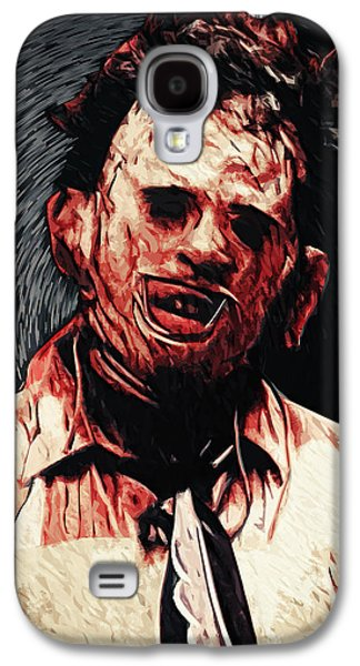 Recently Sold -  - Creepy Galaxy S4 Cases - Leatherface Galaxy S4 Case by Taylan Soyturk