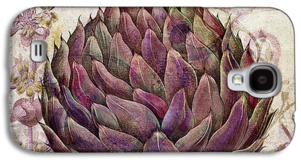 Jerusalem Paintings Galaxy S4 Cases - Legumes Francais Artichoke Galaxy S4 Case by Mindy Sommers