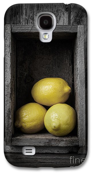 Lemons Still Life Galaxy S4 Case by Edward Fielding