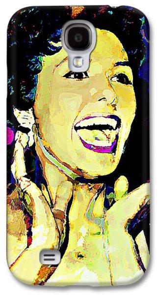 Lena Horne Galaxy S4 Case by Lynda Payton