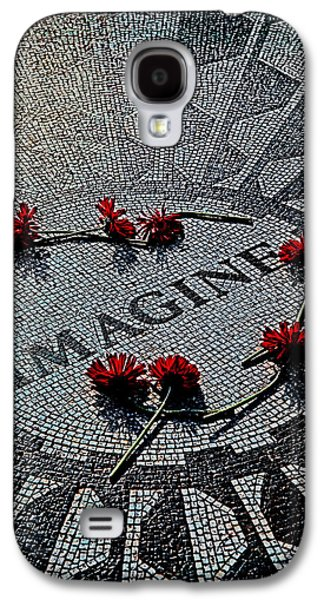 Beatles Galaxy S4 Cases - Lennon Memorial Galaxy S4 Case by Chris Lord