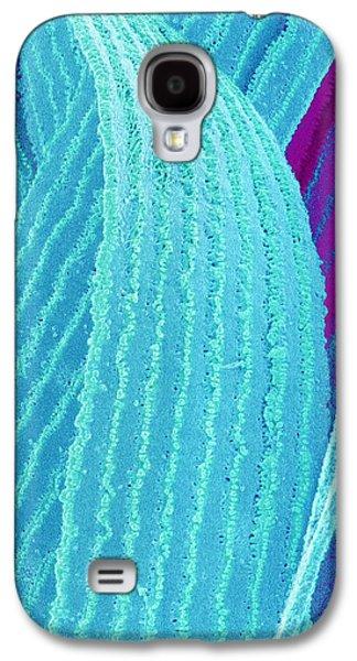 False-colour Galaxy S4 Cases - Lens Fibre From An Eye Galaxy S4 Case by Susumu Nishinaga