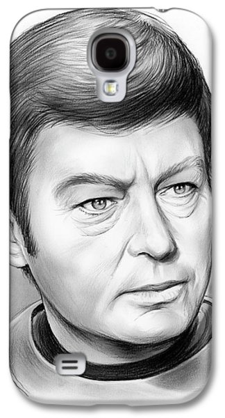 Leonard Mccoy Galaxy S4 Case by Greg Joens
