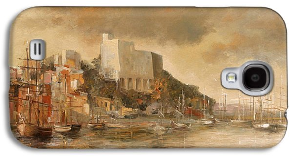 Sun Galaxy S4 Cases - Lerici castle Galaxy S4 Case by Vali Irina Ciobanu
