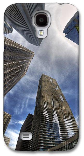 Aqua Condominiums Galaxy S4 Cases - Less is more or more is less Galaxy S4 Case by David Bearden