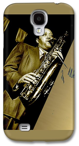Lester Young Collection Galaxy S4 Case by Marvin Blaine