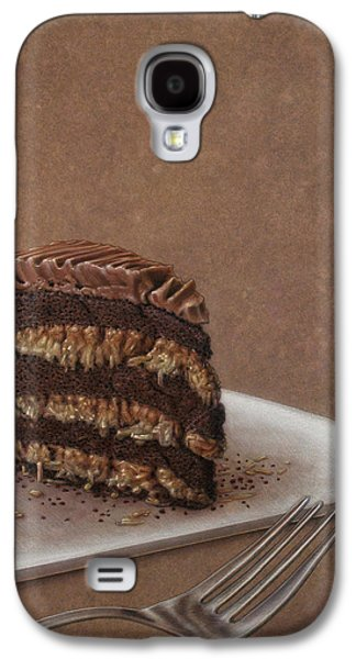 Layered Galaxy S4 Cases - Let us eat cake Galaxy S4 Case by James W Johnson