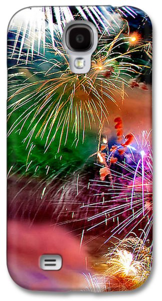 Abstract Landscape Galaxy S4 Cases - Lets Celebrate Galaxy S4 Case by Az Jackson