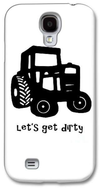 Pull Galaxy S4 Cases - Lets Get Dirty 2 Galaxy S4 Case by Edward Fielding