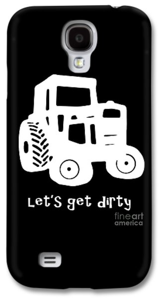 Machinery Galaxy S4 Cases - Lets Get Dirty Galaxy S4 Case by Edward Fielding