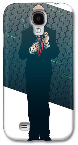 Lex Luthor Galaxy S4 Cases - Lex Dawn of Justice Galaxy S4 Case by Akyanyme