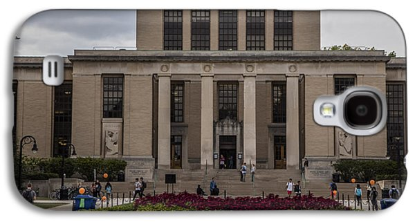 Library At Penn State University  Galaxy S4 Case by John McGraw